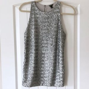 Sequined Ann Taylor top